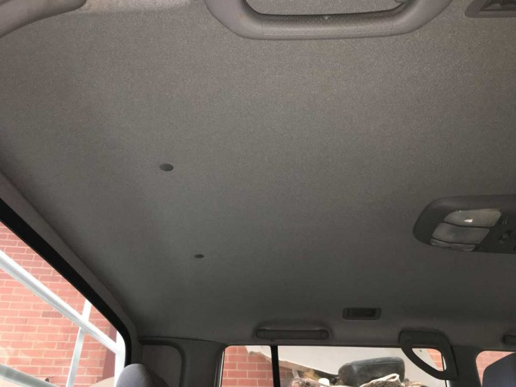 Car Roof Lining Repair Project